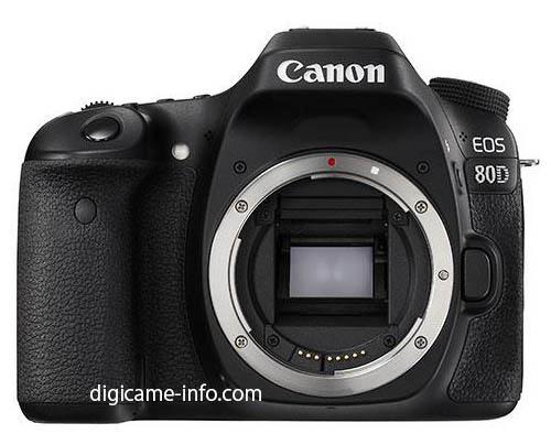 [新聞] Canon 80D 規格流出