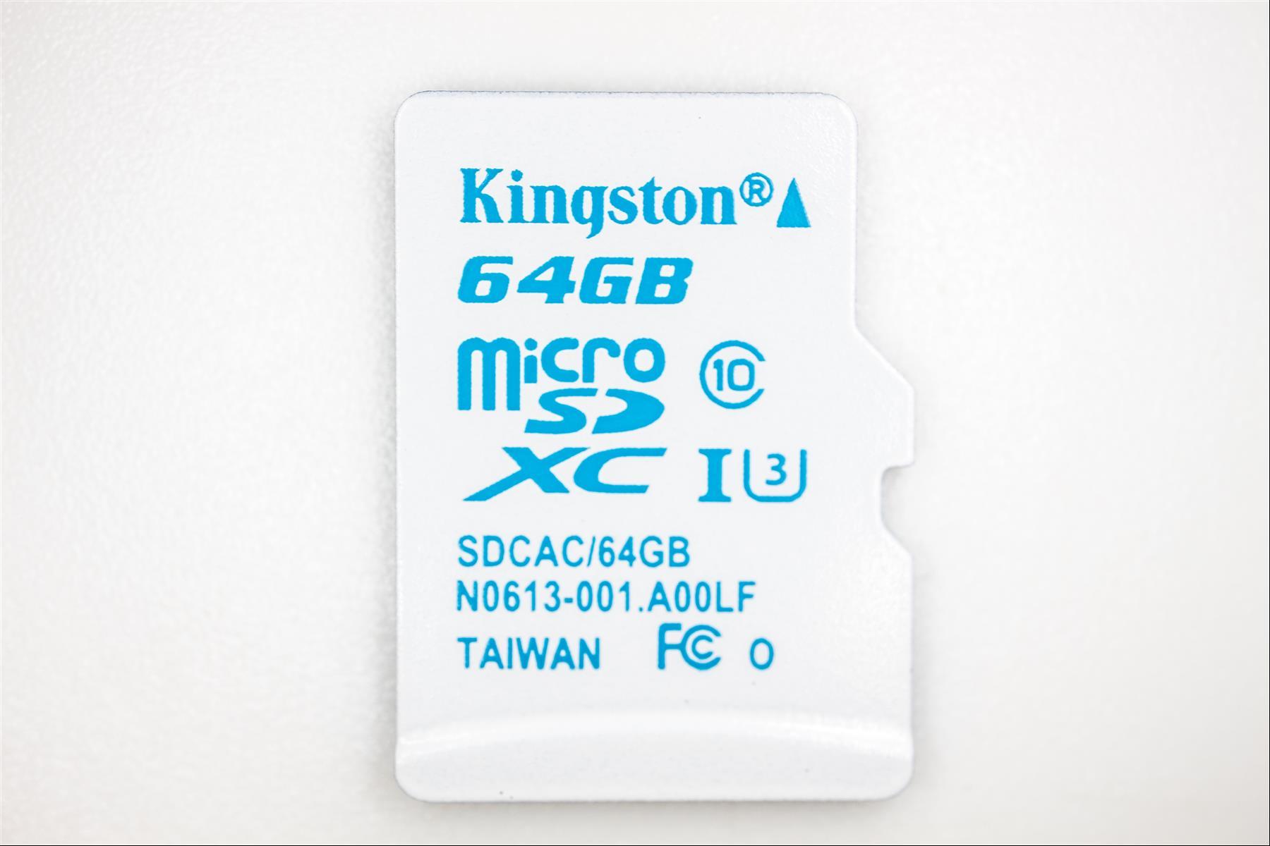 Kingston microSD U3