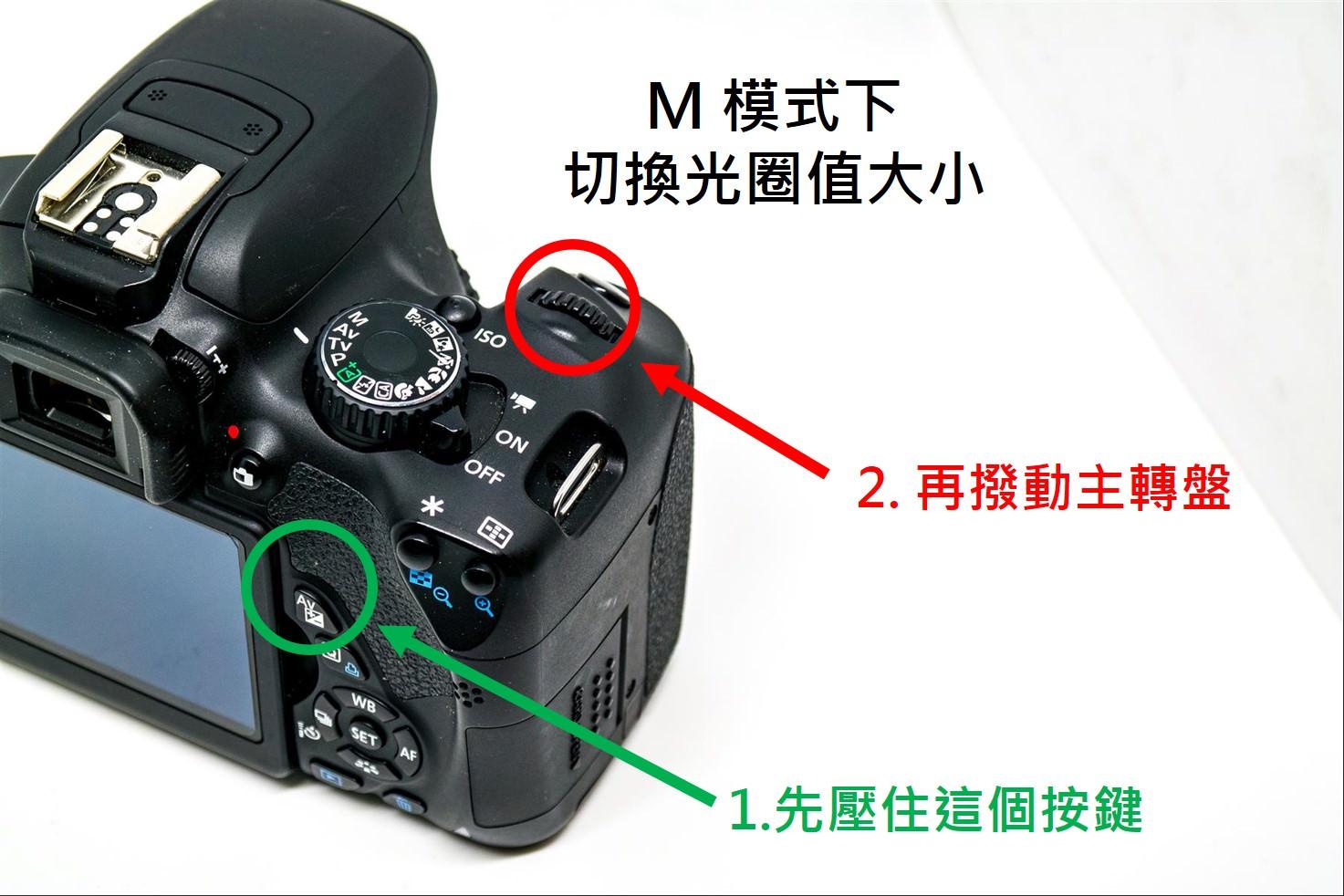 相機有二個轉盤