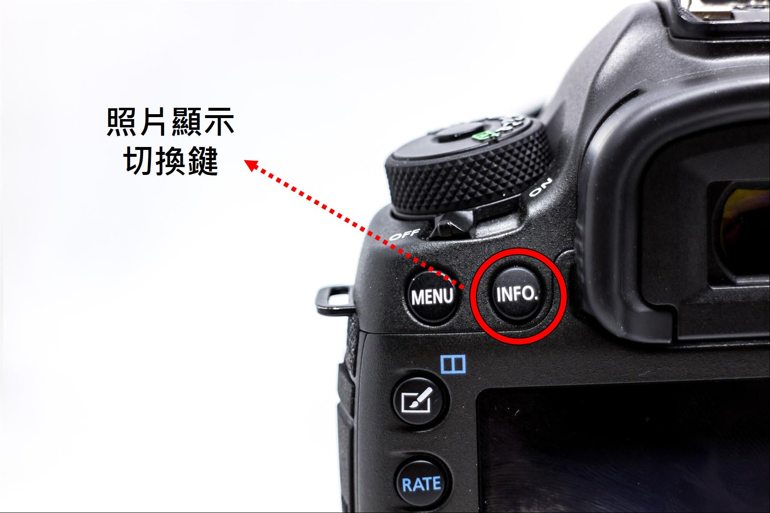 照片資訊顯示方式