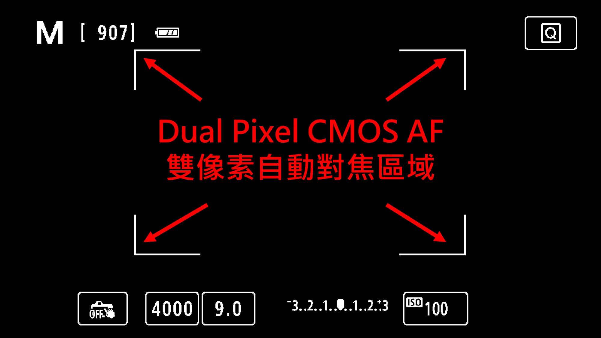 Canon 77D Dual Pixel CMOS AF