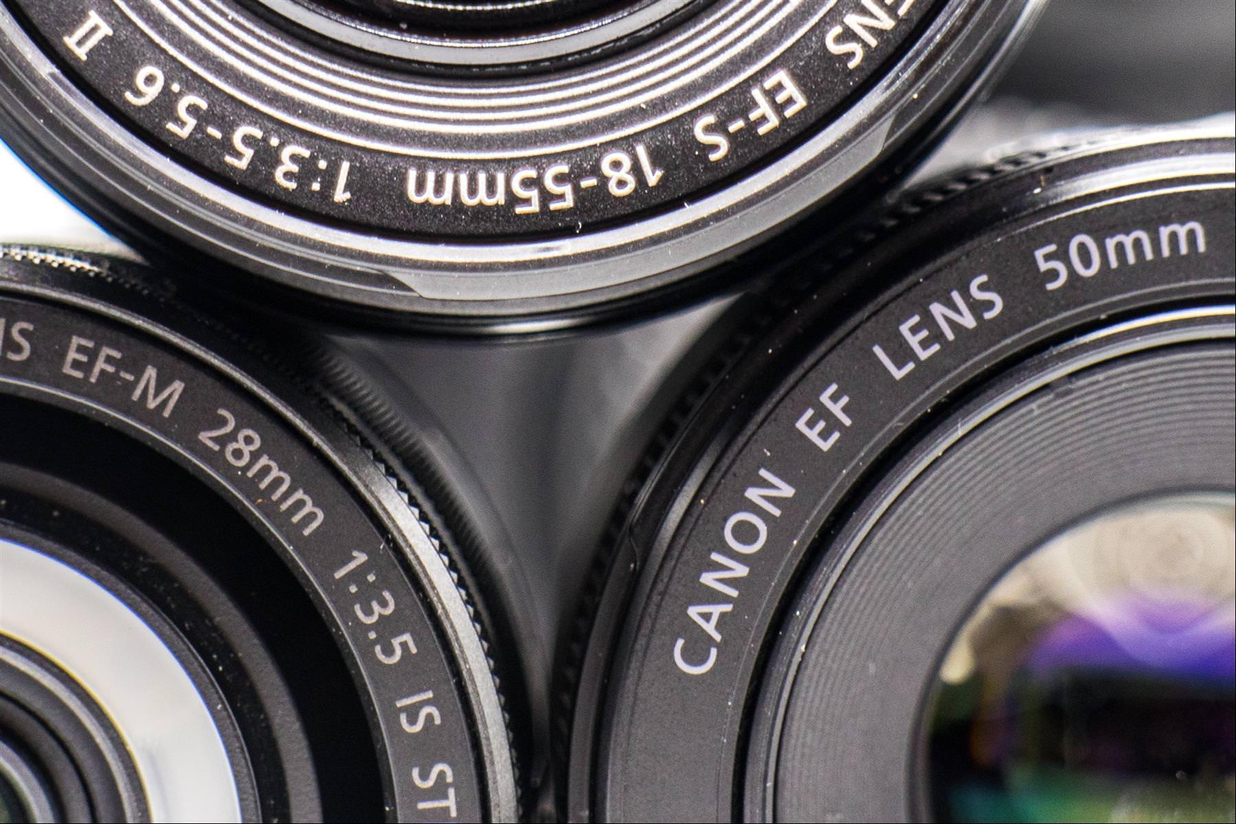 canon 鏡頭代號