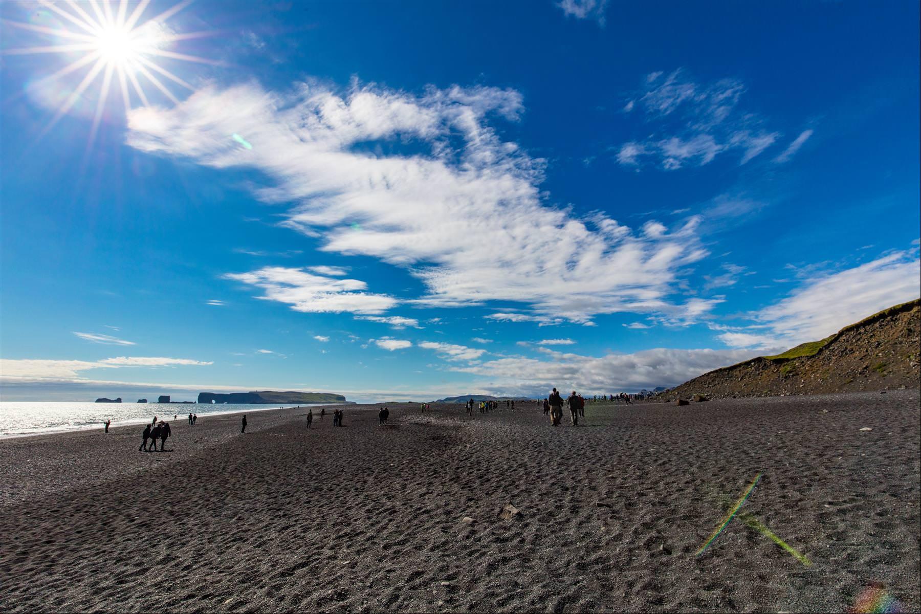 Reynisfjara 黑沙灘