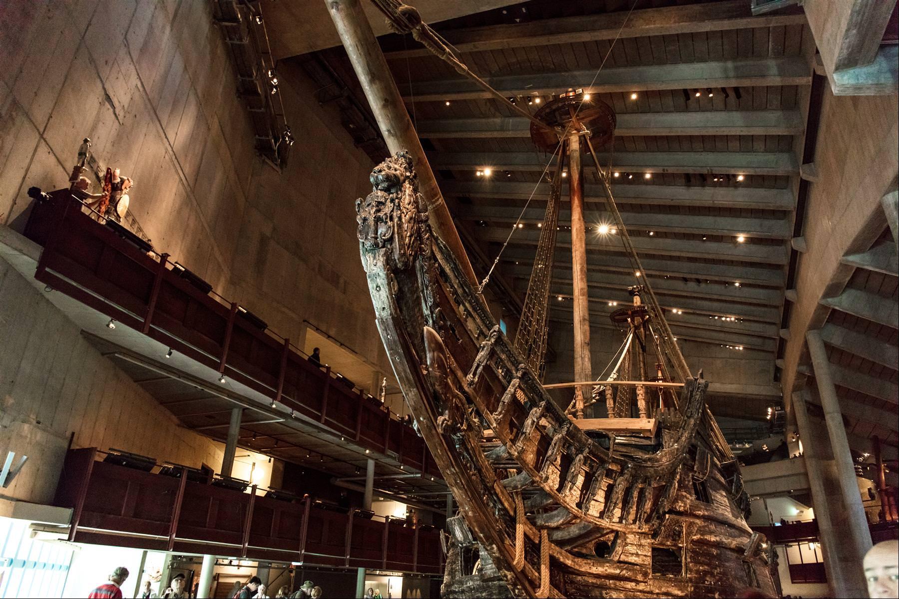 瓦薩號戰艦博物館