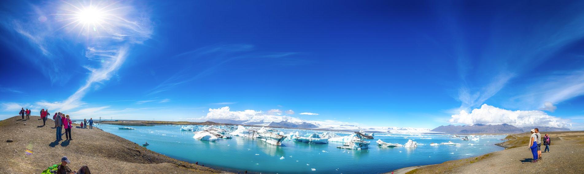 傑古沙龍冰河湖