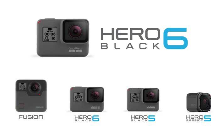 GoPro HERO 6 規格