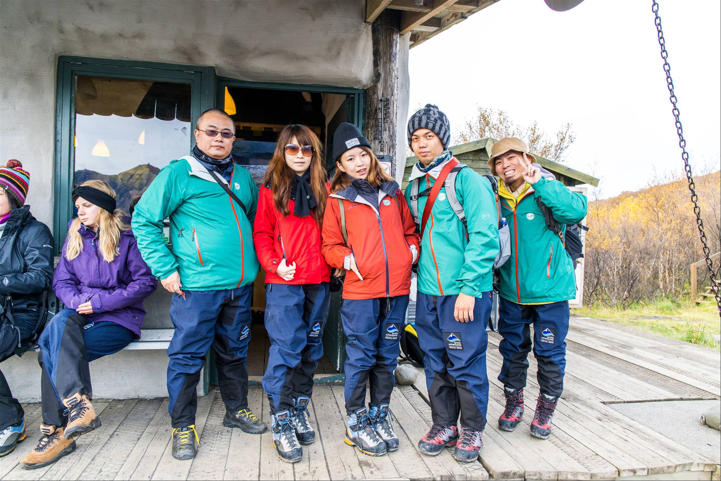 冰川健行 Glacier Hikes