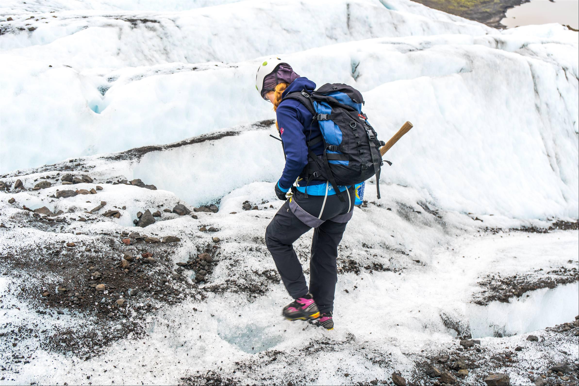 冰川健行 Glacier Hikies