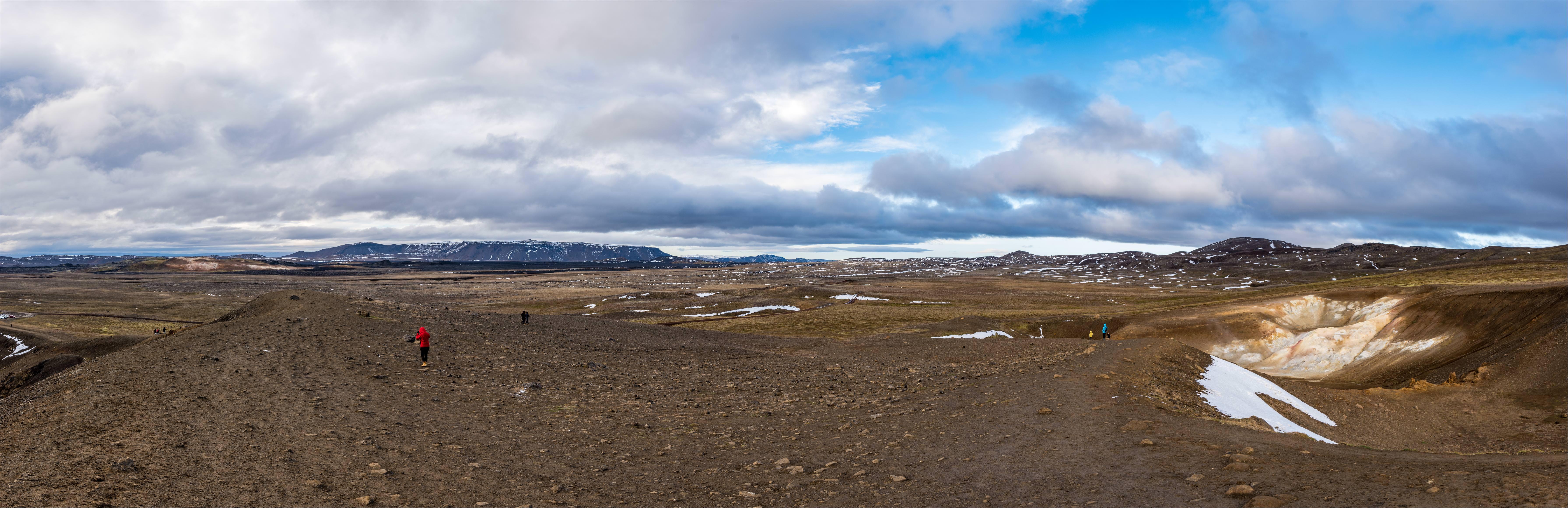 火口湖 Stora Viti