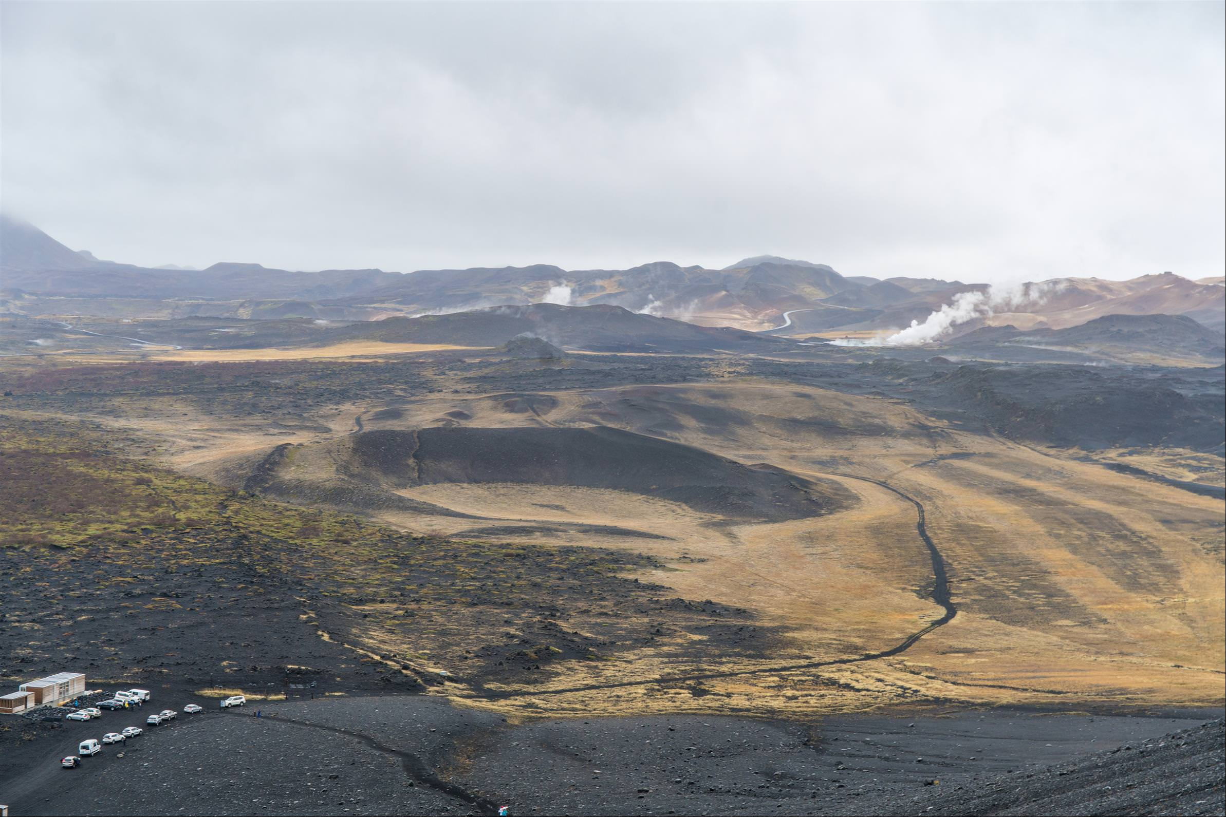 惠爾山 Hverfjall