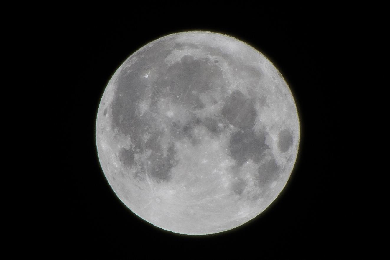 超級月亮怎麼拍