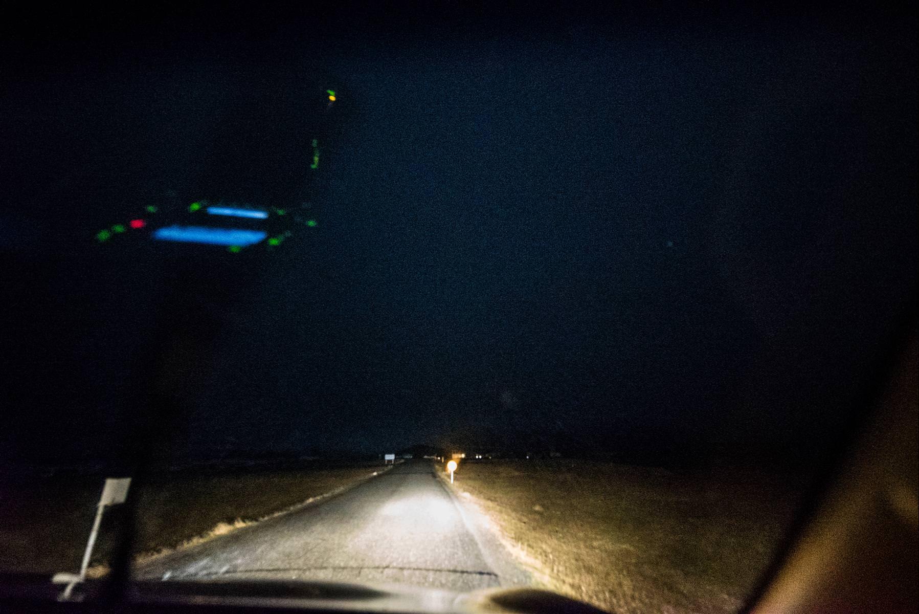 冰島自助追極光