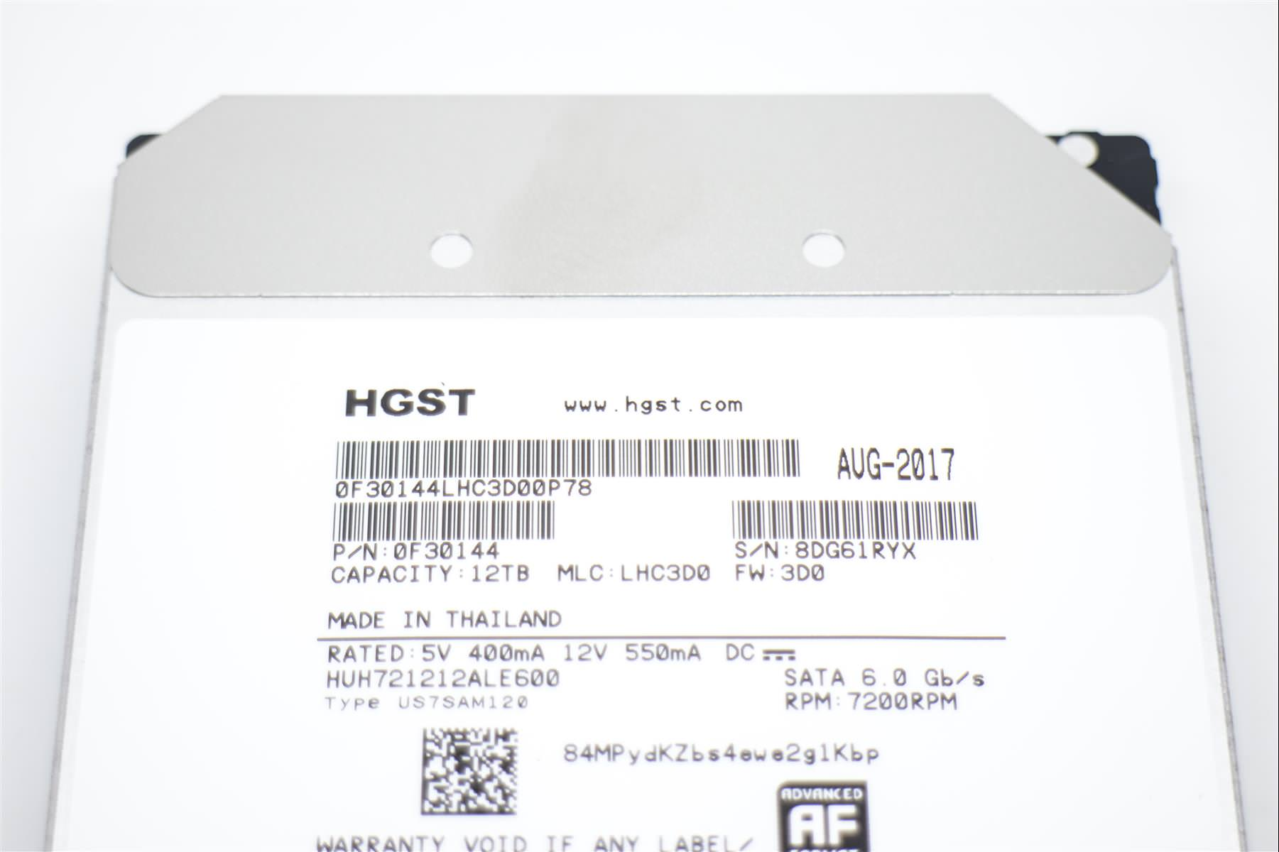 HGST Ultrastar He12 12TB