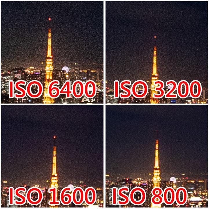 降低 ISO 提昇畫質