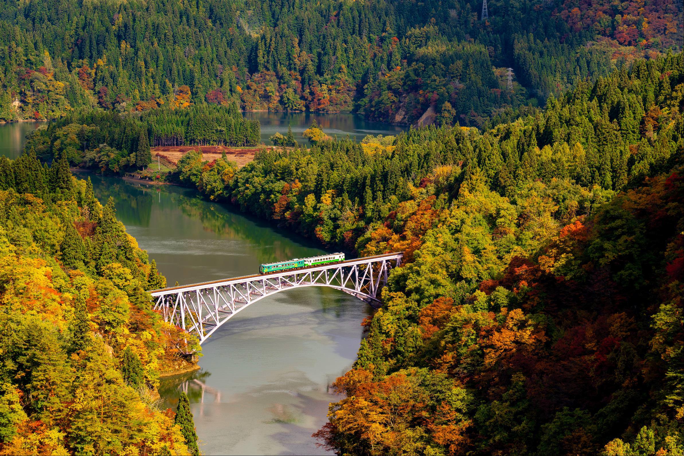 只見川第一鐵橋