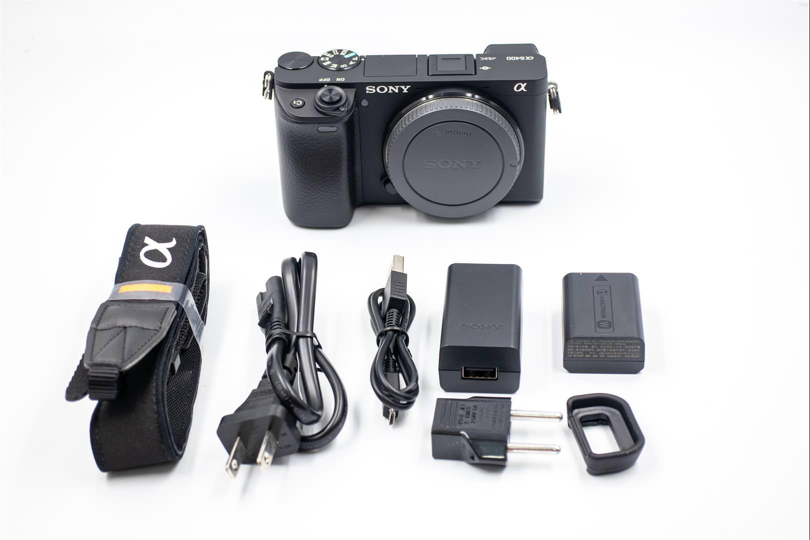 Sony A6400 開箱介紹