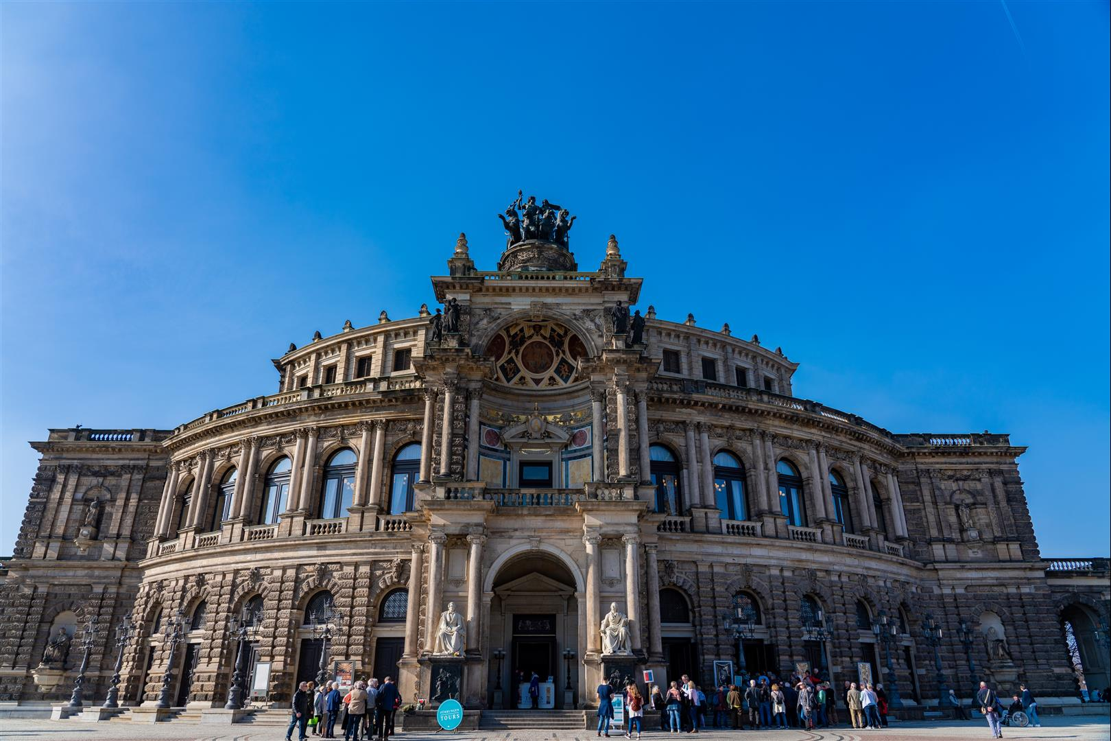 森柏歌劇院Semperoper Dresden