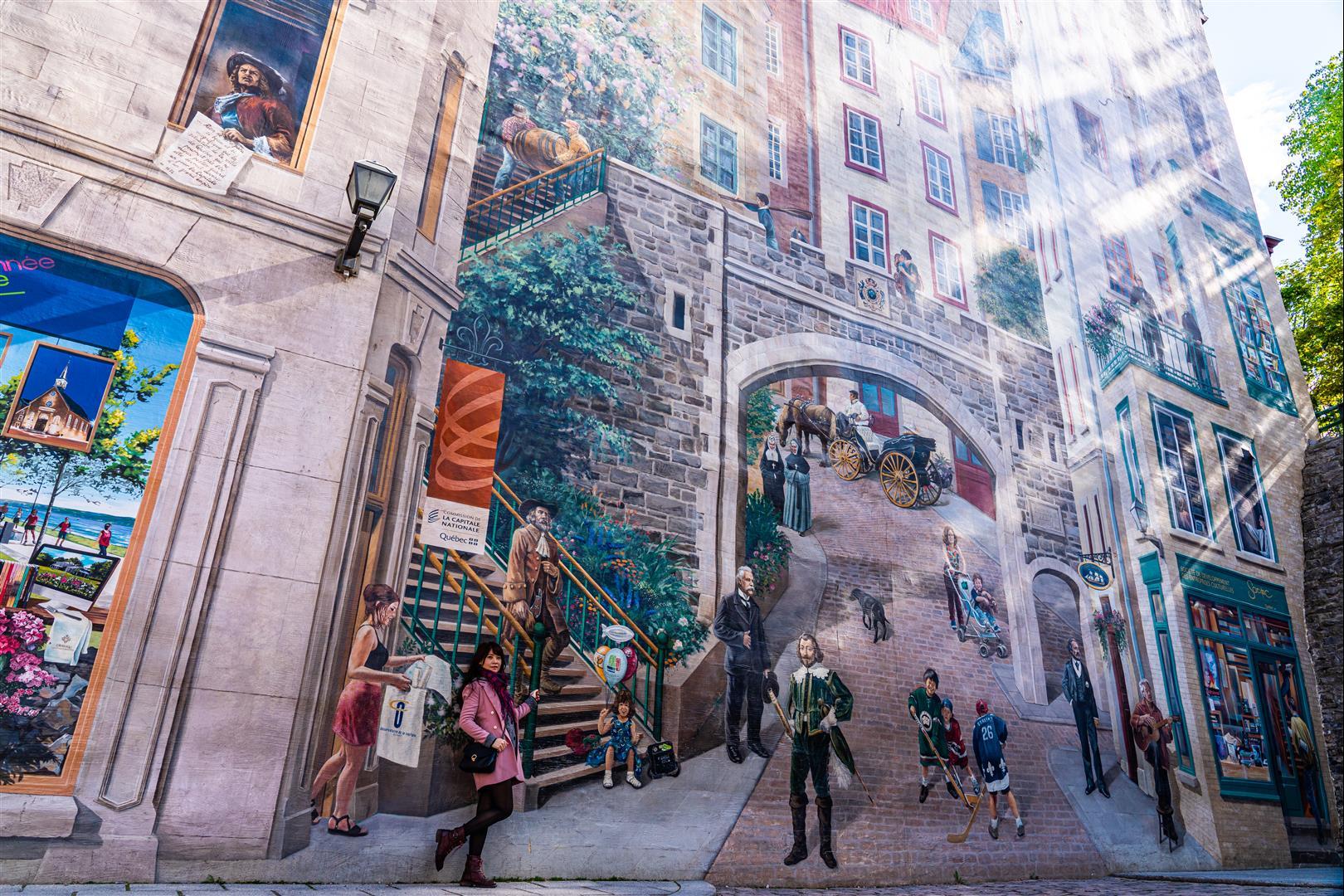 魁北克大壁畫