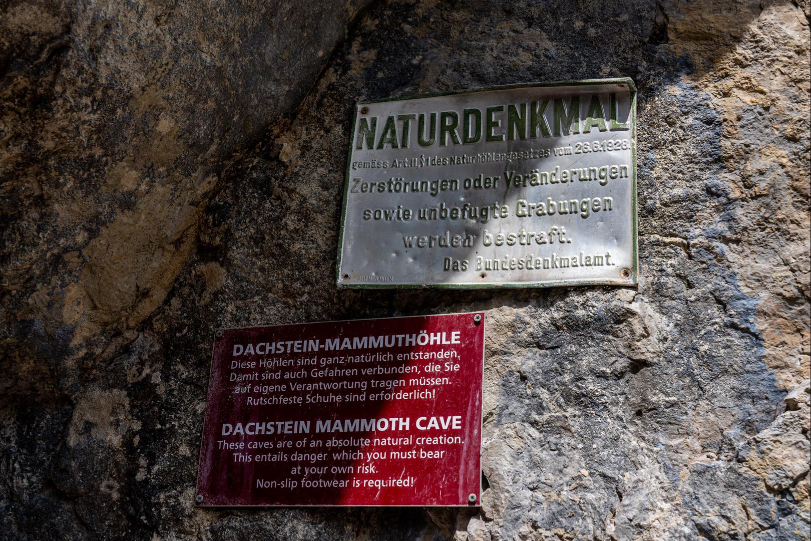 達克斯坦猛瑪洞 Dachstein Mammut Hohle