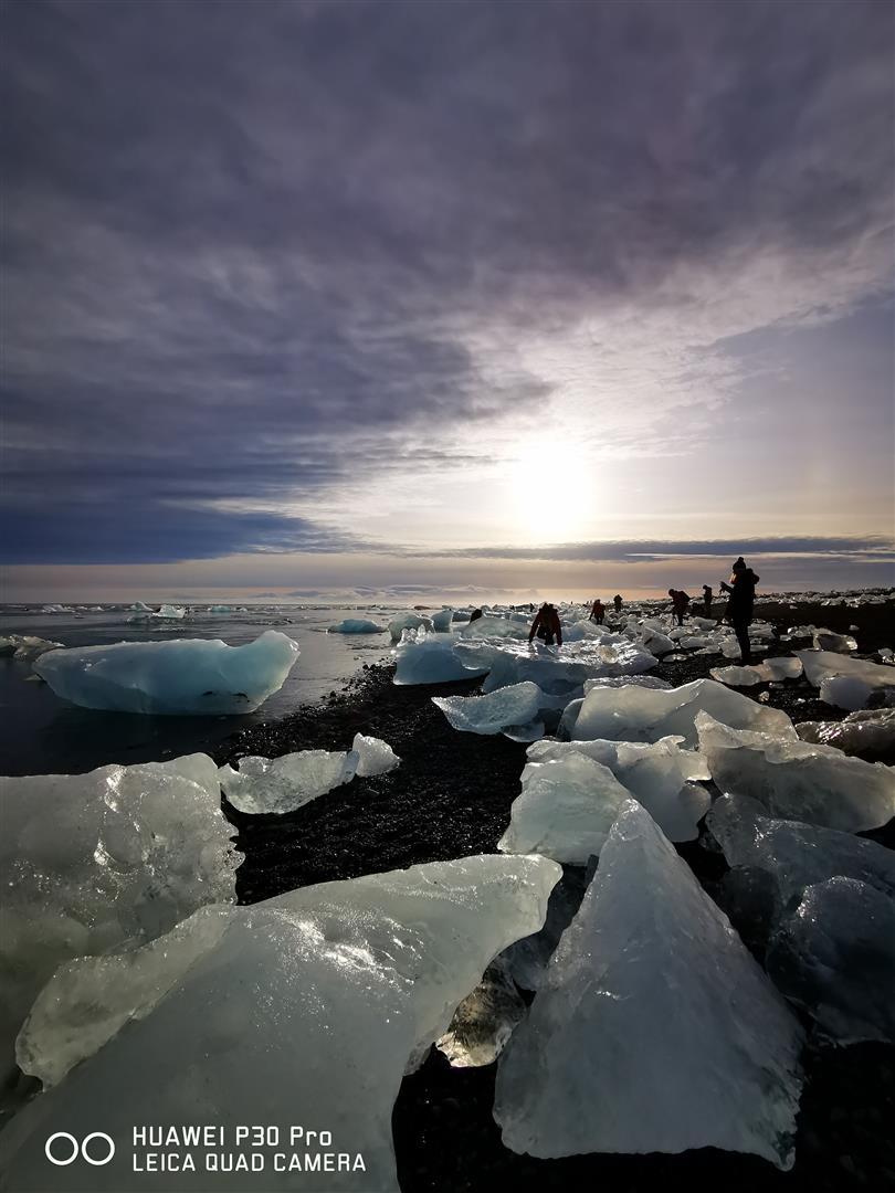 鑽石冰沙灘 Diamond Beach