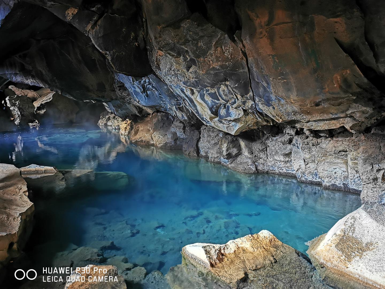 溫泉洞穴 Grjotagja cave
