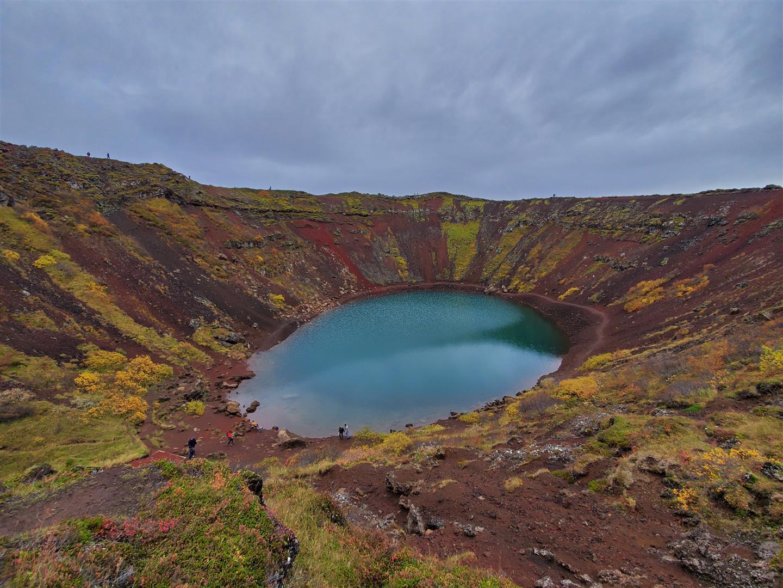 火口湖 Kerið