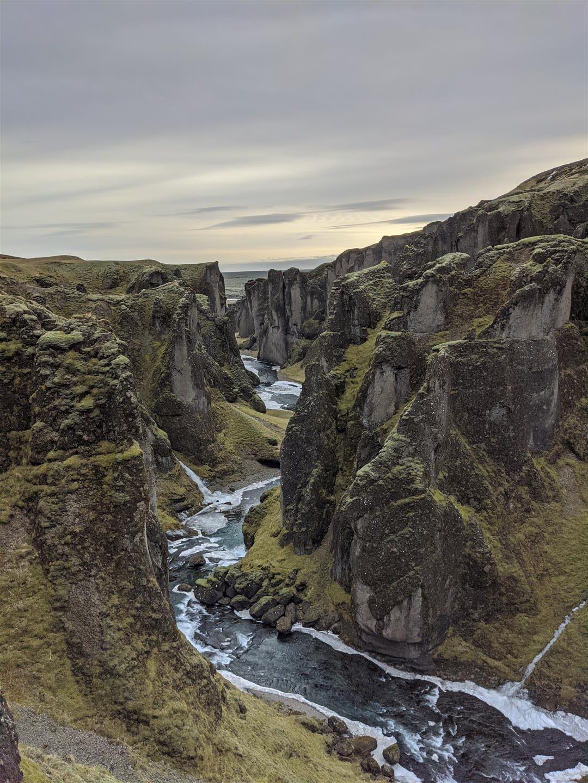 羽毛峽谷 Fjaðrárgljúfur
