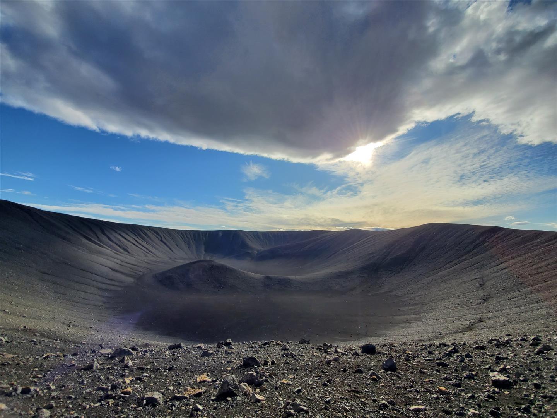 惠爾火山 Hverfel