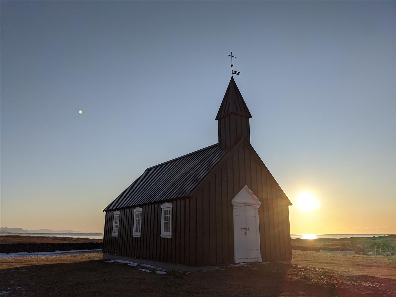 黑教堂 Búðakirkja