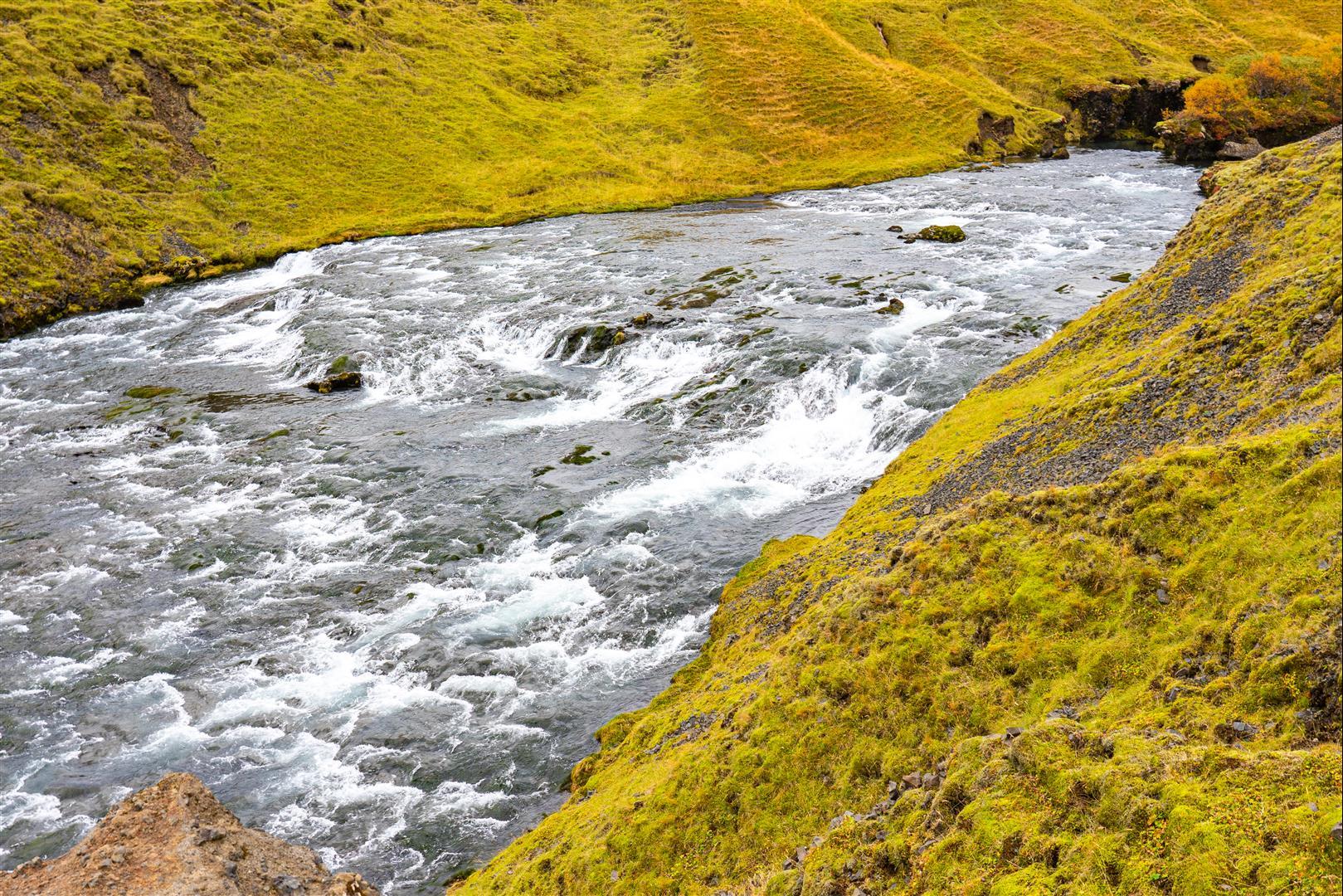 斯科加瀑布 Skogafoss