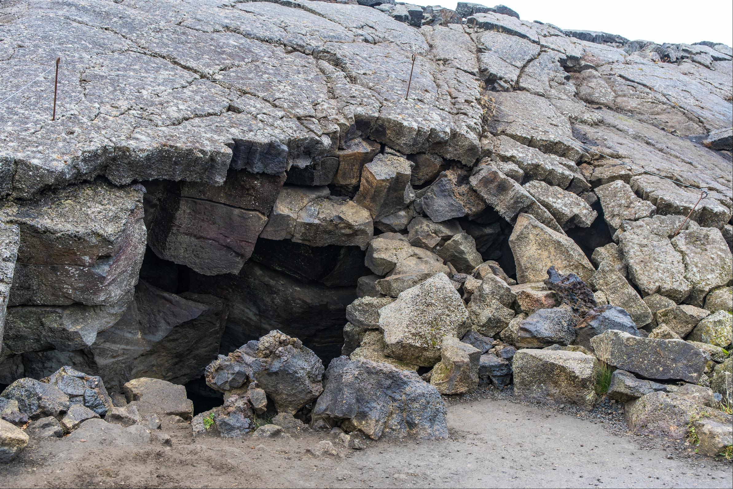 洞穴溫泉 Grjótagjá cave