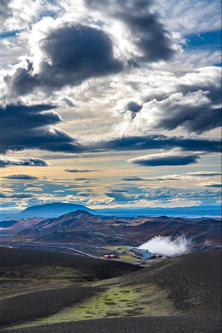 克拉夫拉火山 Krafla
