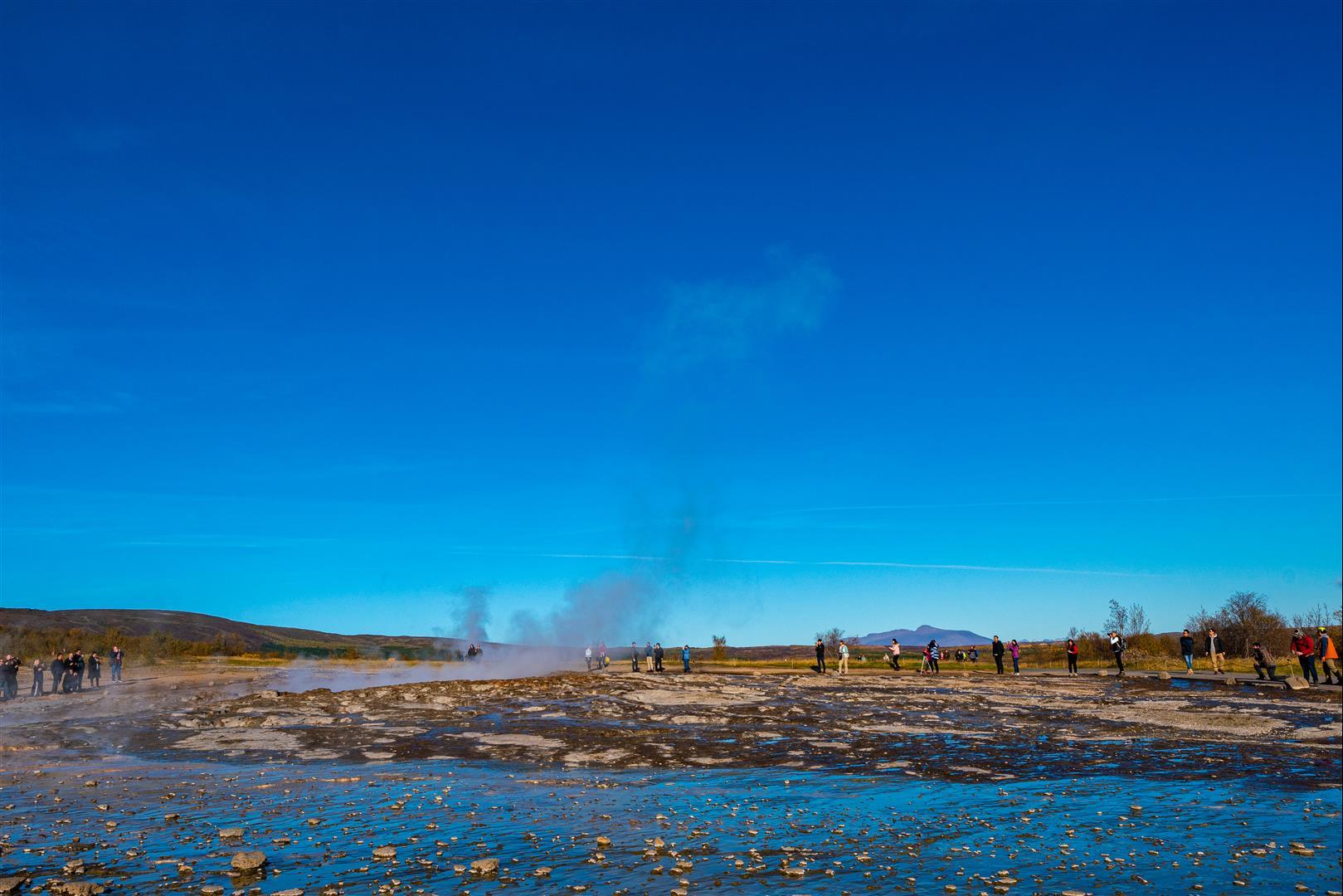 間歇泉 Geysir