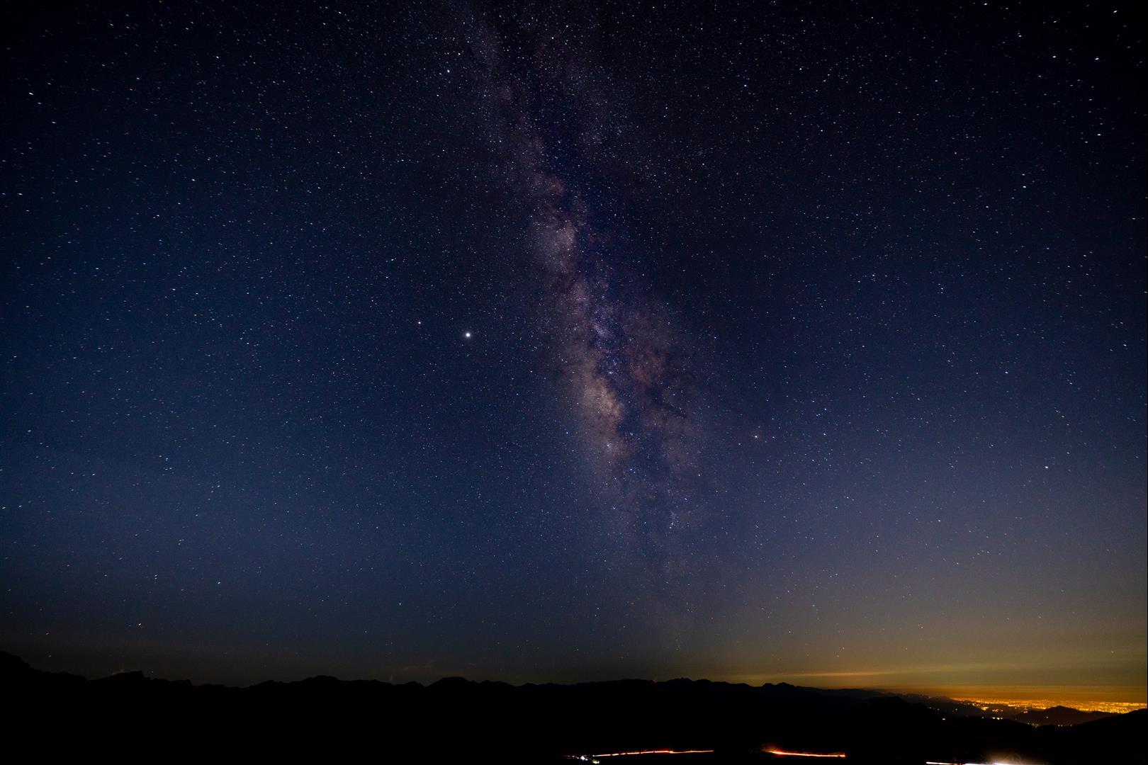 銀河怎麼拍