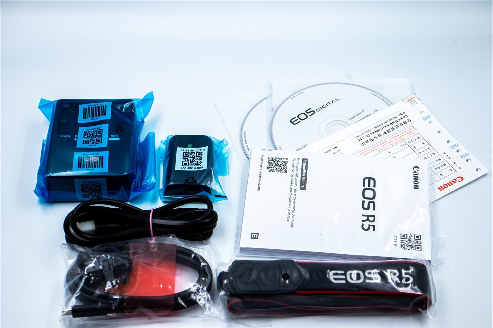 Canon EOS R5 開箱