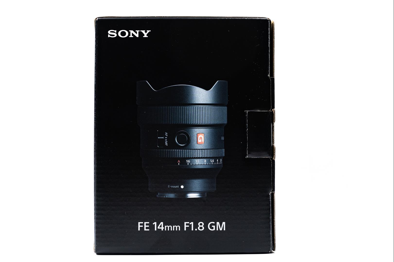 Sony FE 14mm F1.8 GM 開箱