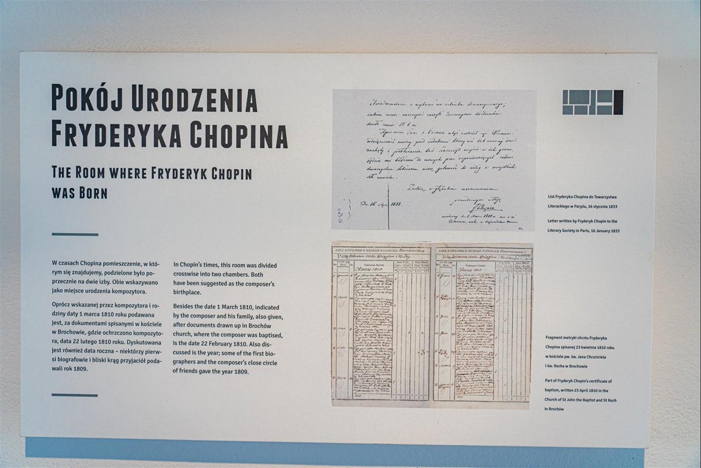 蕭邦故居 DOM URODZENIA FRYDERYK CHOPINA